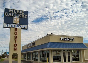 Music Gallery Clearwater location