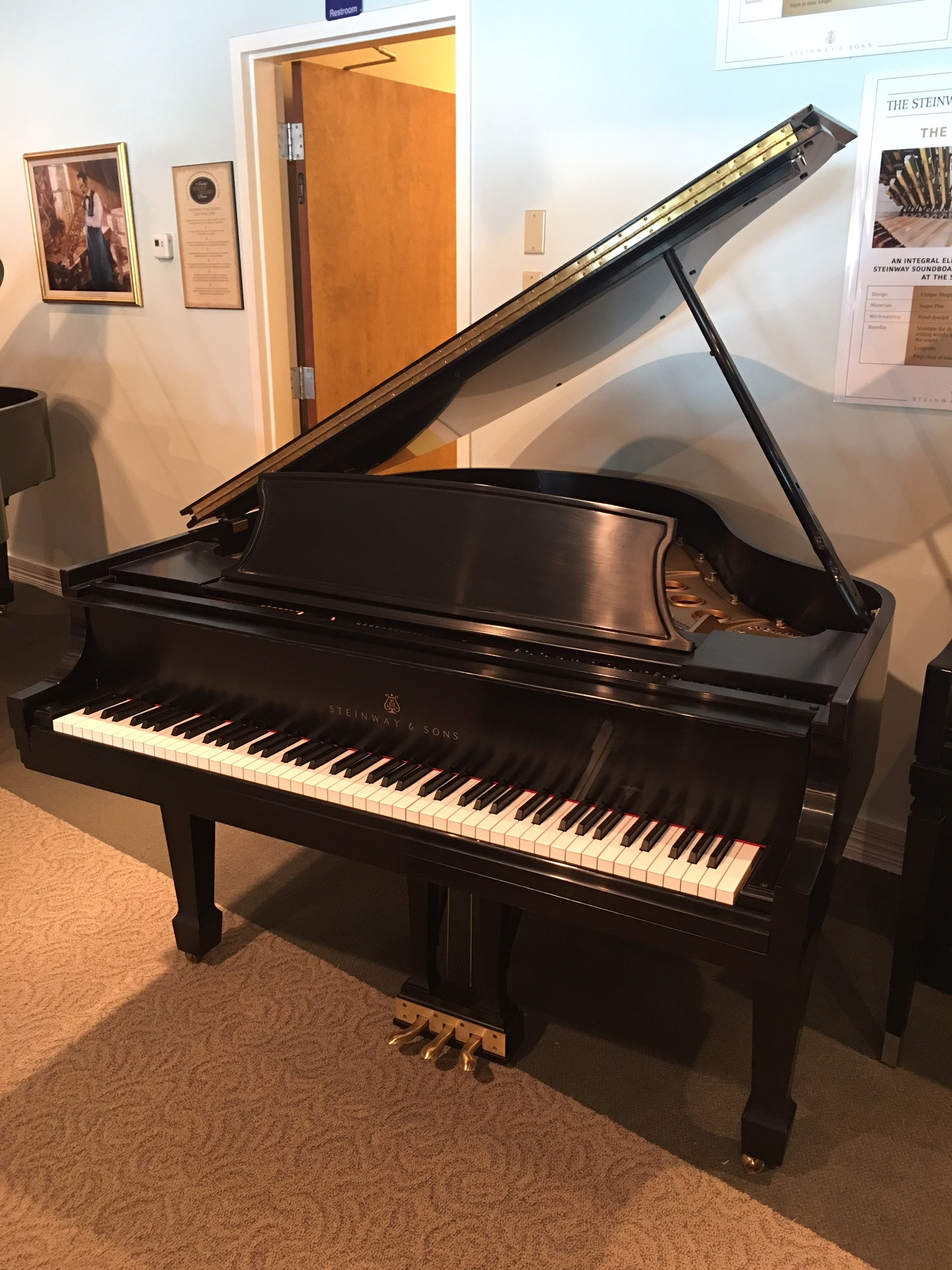 Stienway & Sons Model S Used Piano