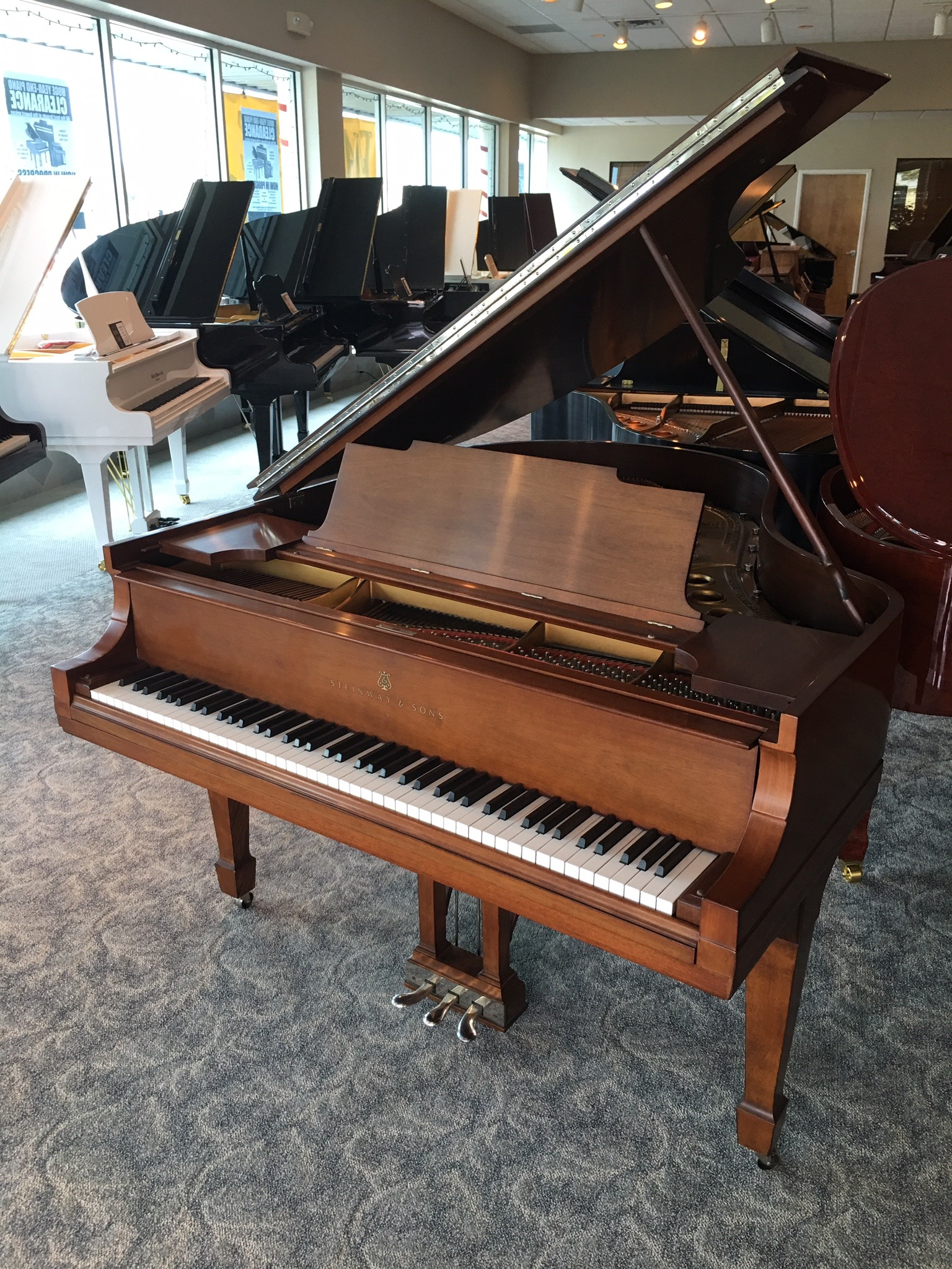Used Steinway and Sons Grand Piano
