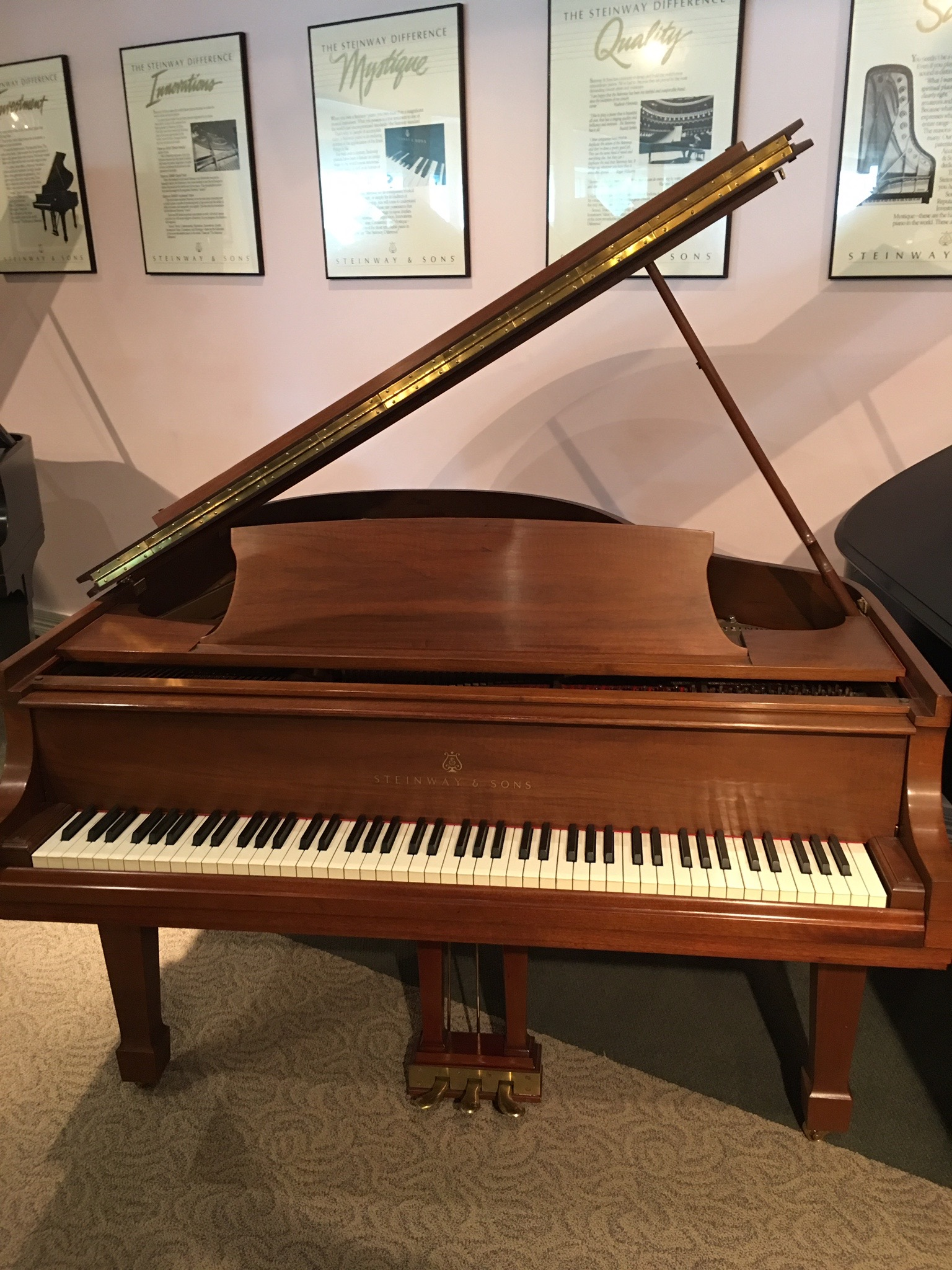 Used Steinway and Sons Grand Piano - for sale at Music Gallery Clearwater