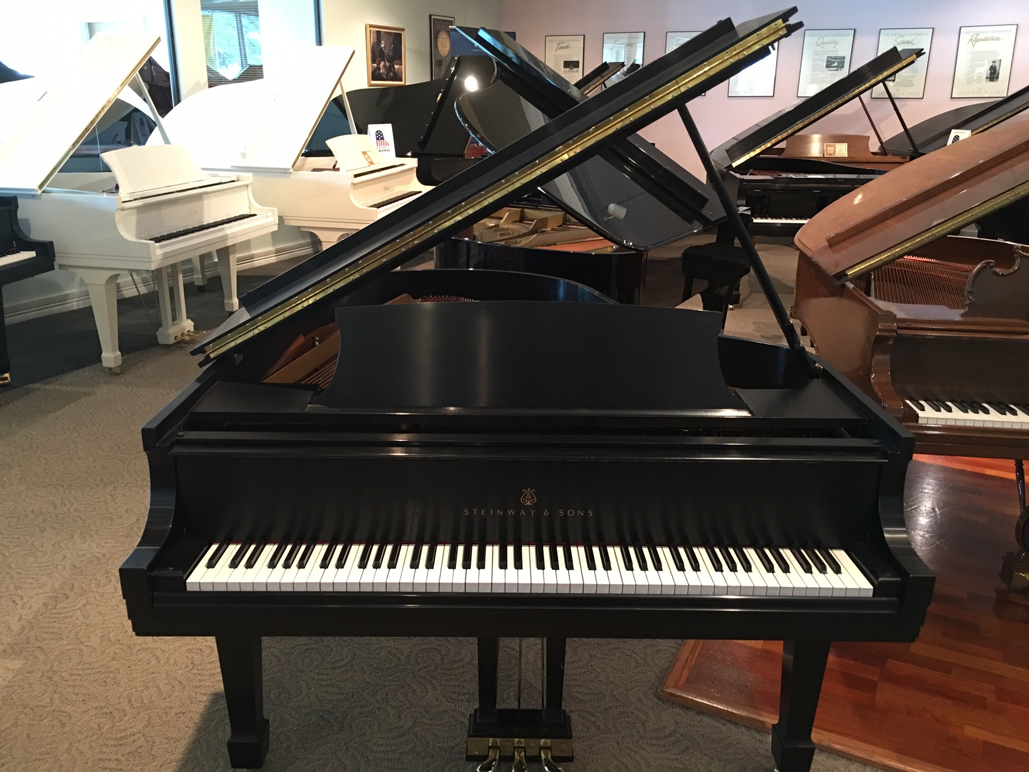 Steinway & Sons Model M Used Piano