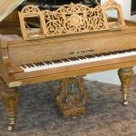 1885 used Iback Semi-Concert Grand Piano