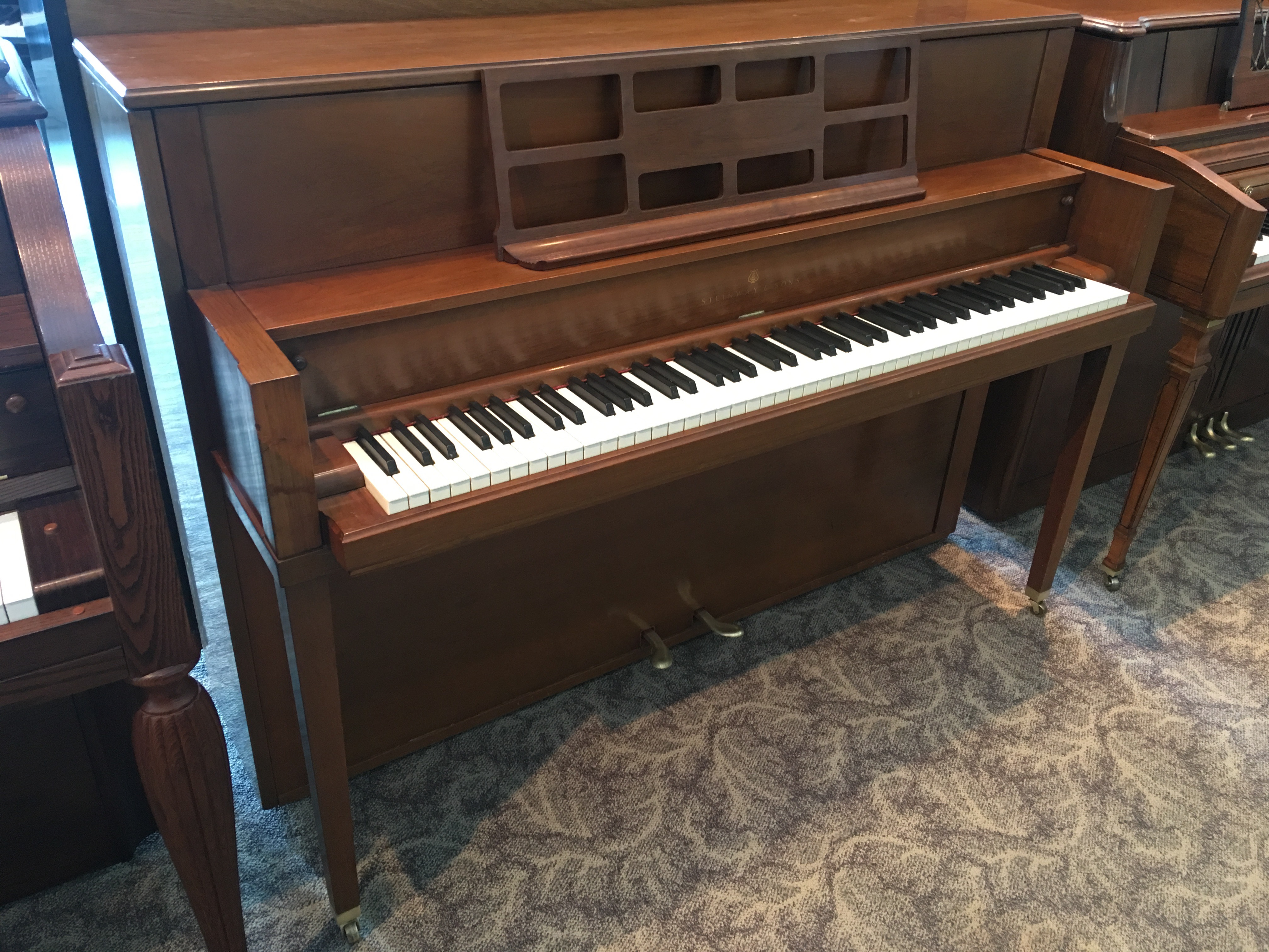 1976 Steinway and Sons Model F