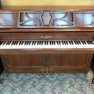 2008 Knabe Studio piano front view