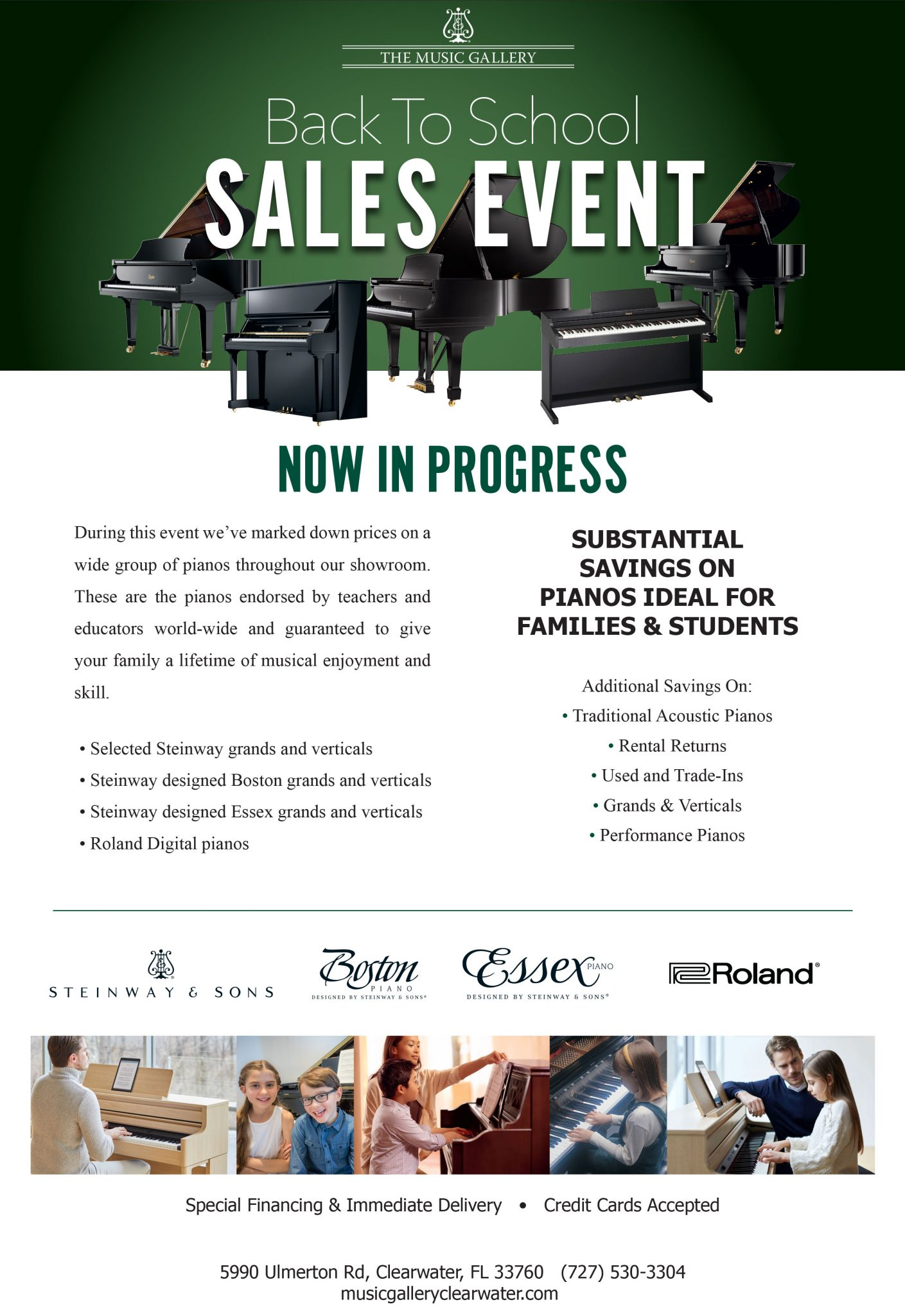 Back To School Sales Event!
